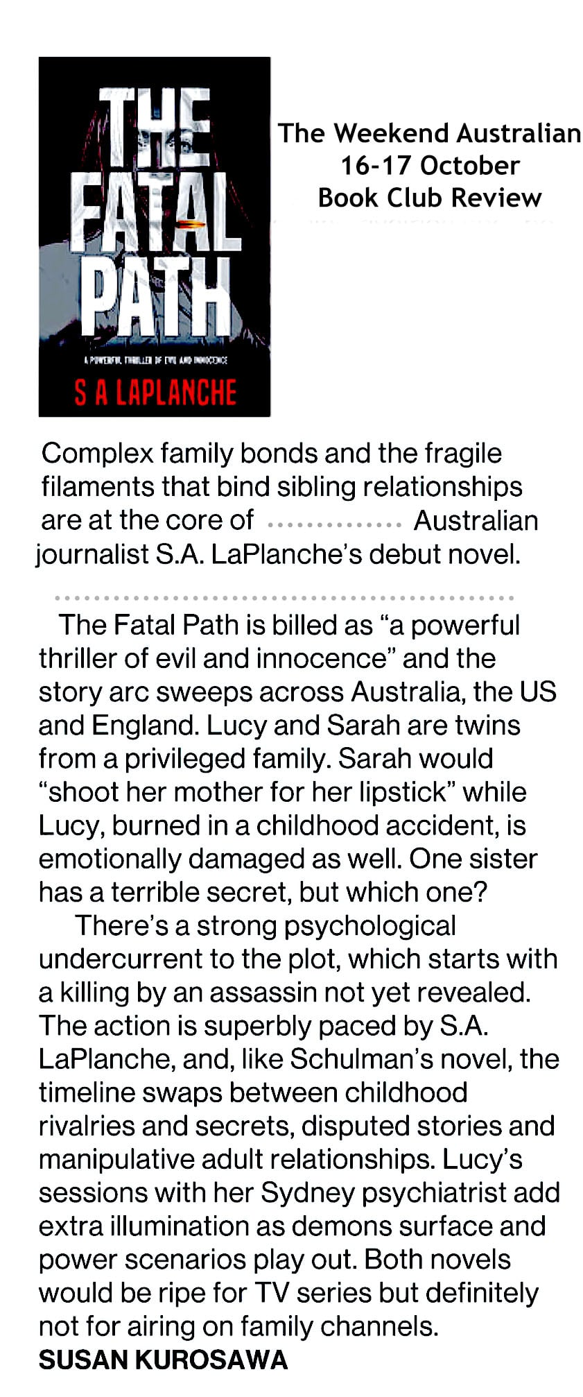 The Weekend Australian book review